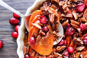 Cranberry Pecan Sweet Potato